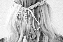 Boho, Hippie, Gypsy, Ethnic Hair..
