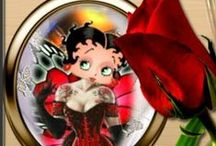 Betty Boop- Steam Punk, Punk & Goth / These and the 40s pin up type Betty Boop pics are my favs :-)
