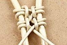 wickeln knoten und kreuzen