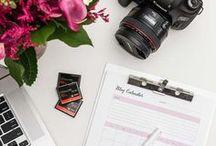 Blog Topic Ideas for Photographers / Blogging Ideas, Blog Topics, Blog Content