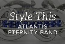 Style This: Atlantis Eternity Ring / The Many ways you can stylize the lovely Atlantis Eternity Band / by Gemvara.com