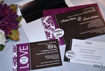Weddings-Invitations & Programs