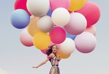 Balloons...Up Up & Away / by Cindy Coan