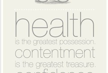 Our Health is our Wealth