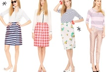 SMP Living Spring Must Have Outfit / florals, a bit of bling, classic pieces, and color! / by Melissa Czerkowicz Stehler