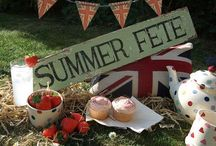 english summer / cool summers, picnics, and seaside getaways
