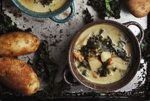 soup of the day / simple and light to decadently filling