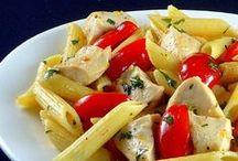 Pasta! / Pasta....yummy, filling pasta.