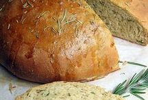 EATS: Breads and Rolls / Nothing makes home feel more cozy than the smells of FRESH baked bread and rolls...YUM!!   / by Gina Brincko