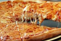 EATS: Pizza Crazy! / I LOVE Pizza!! The delicious combination of Tomatoes, Cheese and spices all layered on hand- tossed dough (with or without meats and veggies) and baked to perfection , in a HOT brick oven, just can't be beat! Here are  all the best pizza recipes and or places to get GREAT pizza!  / by Gina Brincko