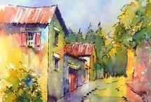 Watercolors VI / by Virginia Twedell
