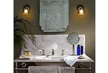Bathroom Ideas / Explore inspiration and ideas to help you create and decorate the perfect bathroom.