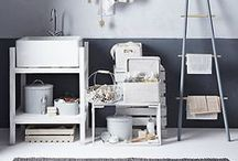 Utility Room Ideas / Explore inspiration and ideas to help you create and decorate the perfect utility and laundry room.