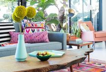 Living Spaces / Living room decor. Style inspiration + ethical home goods