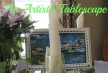 All The Pretty Tables / Tablescapes, Table Decor, Table Settings, Themed Tables