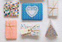 Gift wrap ideas / by Sharon Matthijsse