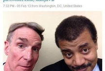 Neil deGrasse Tyson AND ALL THE SPACE GANG!  / by Emily Marlow