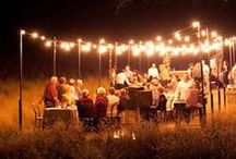 Outdoor Dining & Entertaining / by Angela