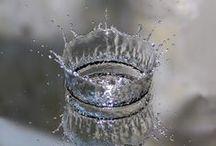 Aigua..Gel...Neu..( Ice water .. ... Snow.) / ..la nostre vida..la nostre existencia..sense ella no viviriem...( Our life .. .. .. ouIce water .. ... Snow.r existence without her viviriem ...) / by Olga Turú