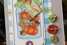 Fall/Halloween cards / by Susan Knowlton
