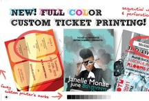 TA Ticket Printing / by Ticket Alternative