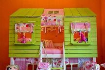 Young kids and teen rooms.