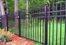 Aluminum Fences / With a wide variety of outstanding maintenance free, powder coated aluminum fences, gates, and railings we are ready to meet your every need. Known for our quality fences – we offer a multitude of grades, styles, colors, and heights that will compliment a structure's architecture, and landscape design, while providing safety, boundary definition, and security.