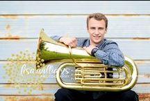 SENIOR-TUBA / senior portraits with a tuba