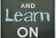 love of learning / by Darla Slocomb