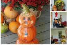 Fall/Autumn/Harvest/Thanksgiving / Fall decorating inspiration