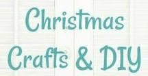 Christmas Crafts/Decorations/Gifts to Make... / So much to make...so little time!  Various Christmas craft and decorating pins.