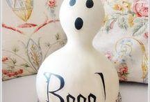 Halloween: It's a Ghost! / I'm feeling a little Halloween-y!!!!!