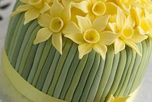 Crazy Cakes / These cakes are just too beautiful to eat! Looking for chocolate cakes? See my Chocolate page.