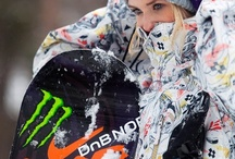 Snowboarding winter / Snowboarding and winter / by M D