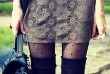 Polka Dot Legs!