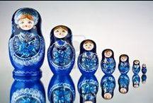 Matryoshka Babushka Dolls