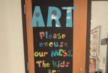Art room ideas / by Dawn Torries