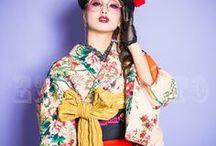 レトロモダン着物KOKOHIME / ESPERANTOのKOKOHIME写真 http://www.studio-esperanto.com/plan/kimono.html