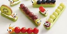 Fun Food / Sometimes you just gotta have fun with your food! Kid Friendly | Snacks | Lunch | Bento box ideas