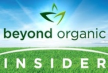 "Beyond Organic Insider Articles / It's becoming increasingly difficult to define what healthy food really is. Many look to ""USDA Organic"" as the ultimate standard for foods and beverages. People often say, ""I eat organic,"" or ""I live organic,"" not even knowing what that really means. So, what does ""organic"" really stand for? Is our modern, commercial food system sustainable physically, economically, or environmentally? This blog is dedicated to helping you find real answers to these and other pressing health questions."