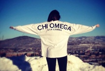 Chi Omega / by Mallory Conlin
