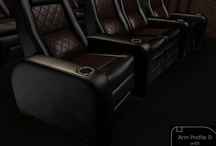 The D Series / by Elite Home Theater Seating