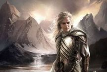 Fandoms: Middle-Earth / Illustrations of the works of J.R.R. Tolkien and stills and concept art from inspired media based on Tolkien's world.   / by Andy Poole