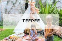 Teepee / Mocka design a magical range of Teepee's for children. They are guaranteed to make your children smile, spark their imaginations and keep them entertained all day long.