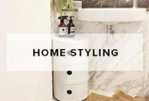 Home Styling / This is a collaboration of products and rooms that are designed to inspire interior styling and decoration.