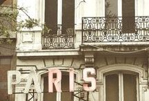 Paris holds the key to my heart / by Emily Schmidt