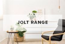 Jolt Range / Mocka's Jolt Range make it easy to add stylish storage to your home. From the bedroom to the lounge room, there is a piece from the Jolt Range that will suit any storage needs.