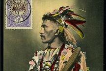 Ethnic postcards