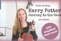 ~ Intermediate Tutorials ~ / Intermediate Violin Tutorials and Free Lessons with Sheet Music.