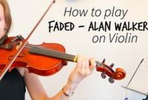~ Pop Song Tutorials ~ / Learn how to play pop songs on the violin.